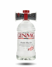 Gin MG, The Extra Dry London Gin and Juniper Berries Jigger