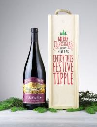 Gluhwein Mulled Wine Wooden Box Gift