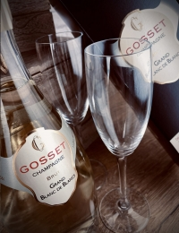 Gosset Grande Reserve, Blanc de Blanc Champagne