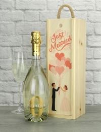 Just Married Bottega Zero Alcohol Gift
