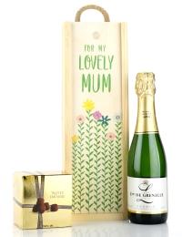 Lovely Mum Grenelle Sparkling Saumur & Truffles Gift