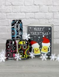 Merry Christmas Magic Rock Beer Tin Gift
