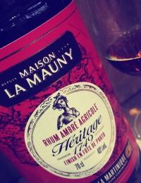Maison La Mauny Heritage 1749 Rhum Ambre Agricole