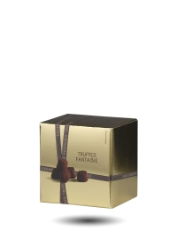 Chocolate Marc of Champagne Fantaisie Truffles, 100g