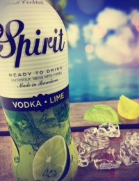 MG Spirit Vodka & Lime