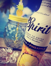 MG Spirit Vodka & Pineapple