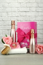 Loveliest Mum Sparkling rose spa gift set