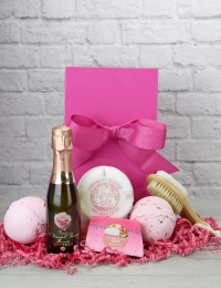 Petalo Moscato Mini Spa Pink Bow Box