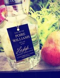 Hepp, Poire William with fruit