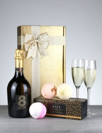 Prosecco Fizz & Bathbomb Bubbles Gift Box