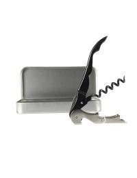 Pulltap Corkscrew in Metal Tin Presentation Box