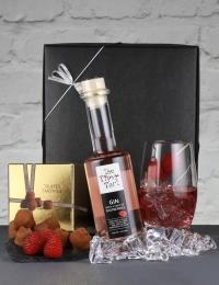 Raspberry Gin & Champagne Truffles Gift Box