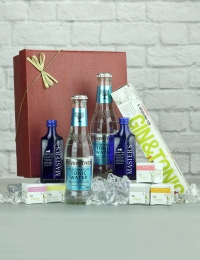 Gin Infusions with Gin and Tonics Gift Set, Presented in a Red Box