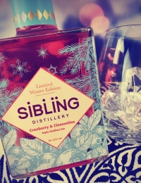 Sibling Winter Edition Gin, Cranberries and Clementine