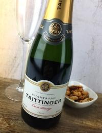 Taittinger Cuvee Prestige, Brut Champagne Half
