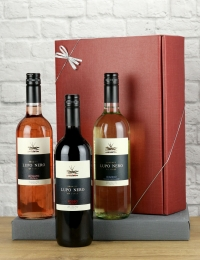 The Black Wolf Trio, Lupo Nero Italian Wine Gift Set