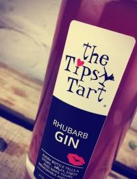 Tipsy Tart Rhubarb Gin Liquour