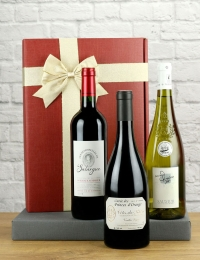 French Mixed Wine Trio Gift