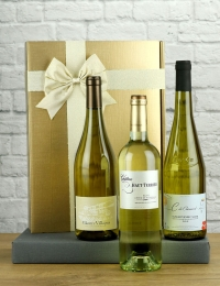 French White Wine Trio Gift