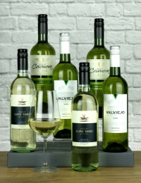 Value White Wine Half Case
