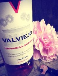 Valviejo Tempranillo/Garnacha Rose, Bodegas Los Tinos