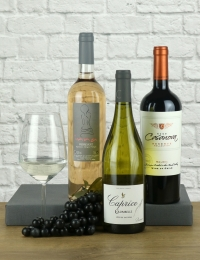 Trio of Vegan Wines