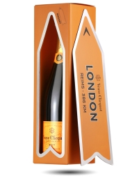 Veuve Clicquot Champagne Arrow Magnet Gift - London