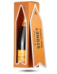 Veuve Clicquot Champagne Arrow Magnet Gift - Sydney