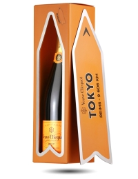Veuve Clicquot Champagne Arrow Magnet Gift - Tokyo