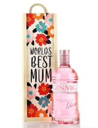 World's Best Mum Strawberry Gin MG Rosa Gift