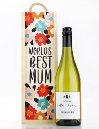 World's Best Mum Saint Marc Reserve Sauvignon Gift