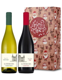 French Wine Christmas Twin Gift