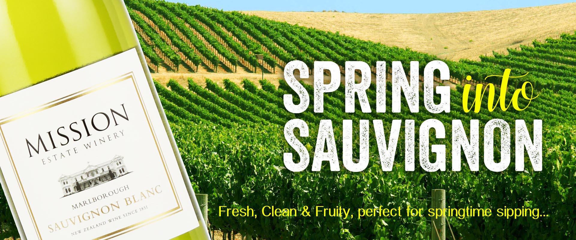 Spring into Sauvignon Blanc