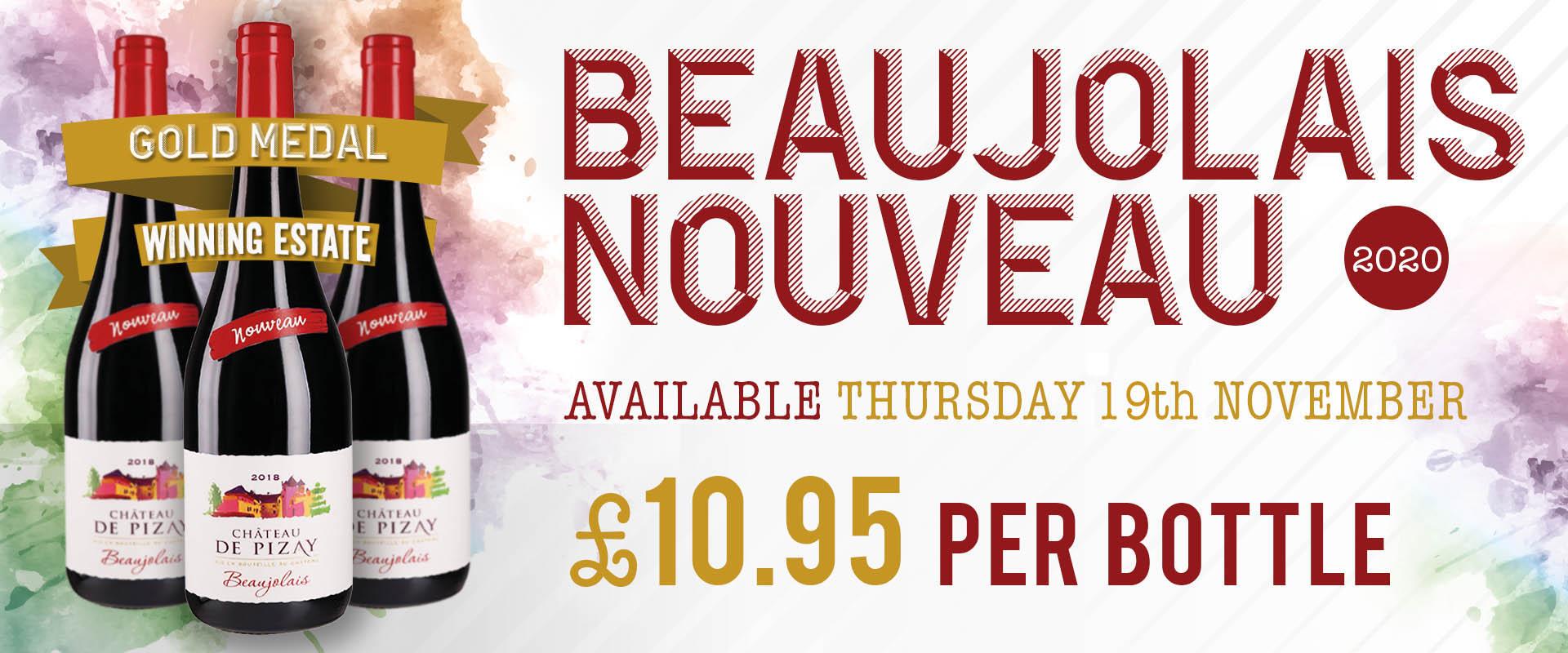 Beaujolais Nouveau Pre-order