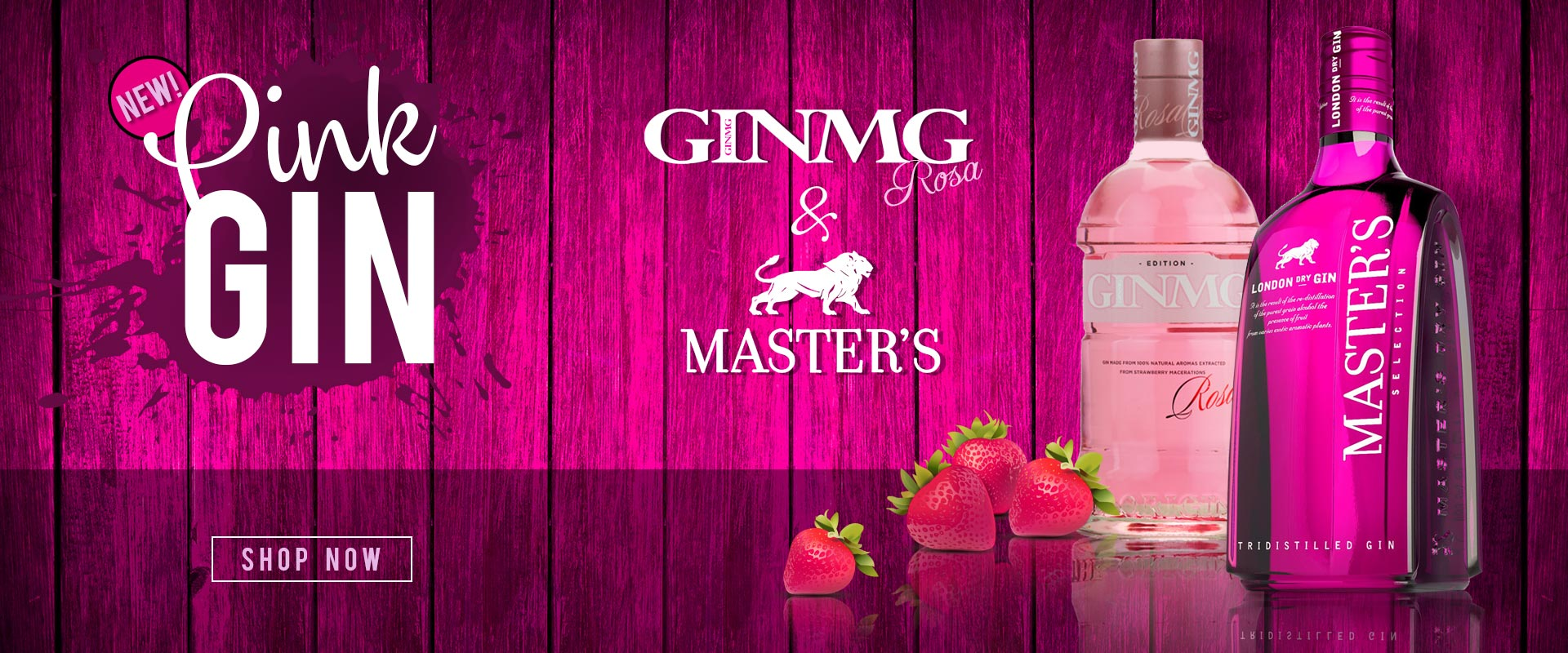 Master's and MG Pink Gin