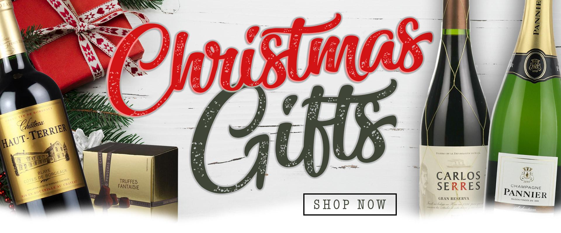 Christmas gift banner 2018